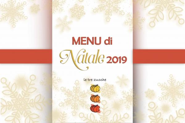 Menu pranzo di Natale 2019 ristorante roma