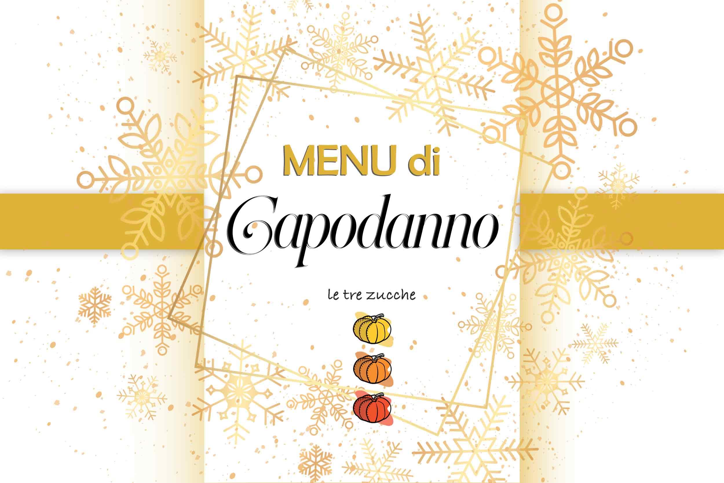 Menu di Capodanno 2019 ristorante roma